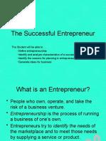 EV_10.1 Characteristics of a Successful Entrepreneurs1