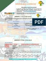 PAC 5 ÁREAS DE APOYO GRADO PRIMERO
