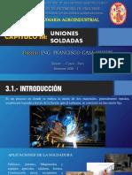 3.- CAPÍTULO III - UNIONES SOLDADAS