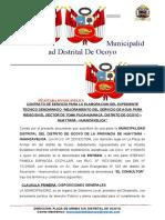 CONTRATO ELABORACION DE EXPEDIENTE PUCAHUARACA