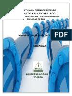 DIPLOMATURA DISEÑO DE REDES  ACUEDUCTO Y ALCANTARLLADO