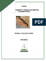 CURSO DIMENSIONAMIENTO Y DISEÑO DE ELEMENTOS DE MAMPOSTERIA (1)