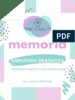 Ejercicios Memoria - FUNCTIONALITY Lic. Luciana Hartwig