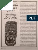 Influencia africana en la música de Cuba