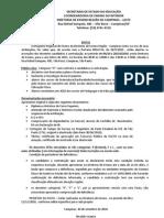 EDITAL INSCRIÇÃO 2011