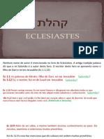 eclesiaste