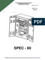 SPEC 60-sp