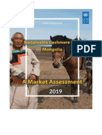 Sustainable Cashmere from Mongolia - A Market Assessment