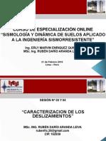 SISMOLOGÍA Y DINÁMICA DE SUELOS - SESIÓN 03 Y 04 (PARTE 02)
