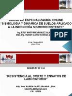 SISMOLOGÍA Y DINÁMICA DE SUELOS - SESIÓN 03 Y 04 (PARTE 03)