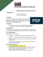 BASES DE LA PRESENTACIÓN DE DIBUJO Y PINTURA 2020