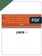 1_Bases Estandar PES mantenimiento