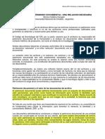 Norma Catalina Fenoglio - evaluación patrimonio documental. Una relación necesaria