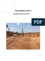 REPORT FOR ISHOKELA MINERAL RESOURCE ESTIMATE-FINAL