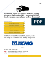 36 XCMG Service Manuals Free Download - Truck manu