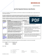 Regulatory Requirements Letter