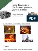 Consumo de agua en la producción de acero
