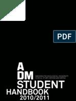 ADMStudentHandbook2010-2011