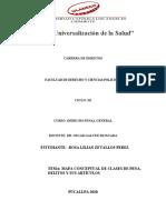 CLASES DE PENAS, DELITOS