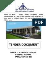 Solar PV PP 8 MW Tender Hubballi Airport.pdf