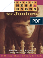 Robert M. Snyder - Unbeatable Chess Lessons for Juniors [McKay Chess Library for Kids]-Random House Puzzles & Games (2003).pdf