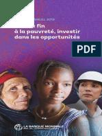 Rapport annuel 2019 - Mettre fin à la pauvreté, investir dans les opportunités.pdf