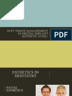 soft tissue management esthtic zone.pptx