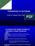 tratamentul cu levodopa