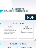 Ch19 to 24. Risk Management in Financial Institution