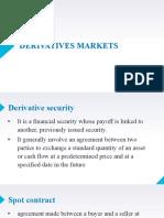 Ch9. Derivatives Market