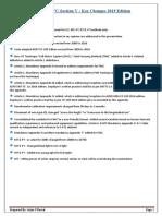 ASME Sec v-Summary of Changes 2019