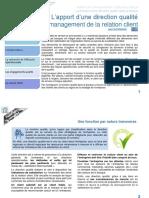 Cahier 2 Fonction direction qualité-relation client