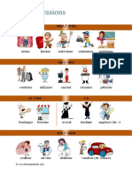 french professions vocab