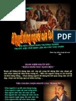 GMD.167.10 - BÍ QUYẾT DÙNG NGƯỜI CỦA ĐỨC GIÊSU