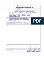 STR-RP117-R0-BSN-Compliance report for comments on Des & Drawings for Super-structure-River Bridge