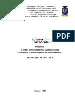 Programul Alfabetizare digitală