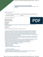 Fiche RNCP Directeur(trice) exécutif(ve) Management Général juillet 2019