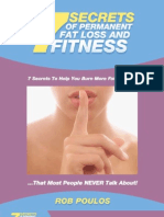 7 Secrets Of Permanent Fat Loss And Fitness- By Rob Poulos