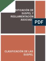 Clasificación de SUSPEL y Reglamentación asociada.pdf