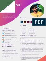 Abhilash Ui Ux Designer Resume - Copy