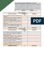 REJILLA AUTOEVALUACIÓN PERSONAL Y SOCIAL (GEOMETRIA OCTAVOS)