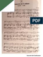 Vivaldi concerto in G minor 1st mvt