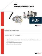 Sistema de combustible Motor ISB CM 800