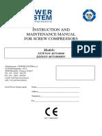 manual compresor vtm