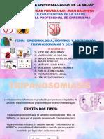 EPIDEMIOLOGIA, CONTROL Y PREVENCIÓN TRIPANOSOMIASIS Y DENGUEE