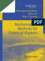 [Springer Finance] Monique Jeanblanc, Marc Yor, Marc Chesney (auth.) - Mathematical methods for financial markets (2009, Springer-Verlag London).pdf