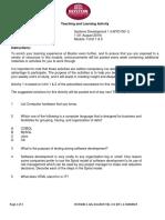 Systems development T&L-W1-IM-V.1-01082019