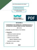 INTERFERENVCIA X TURBIDEZ DE LA GGT