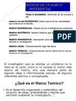 1.4 Marco Referencial (I)