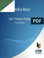 Cap3 - Excel - 1Sem2010